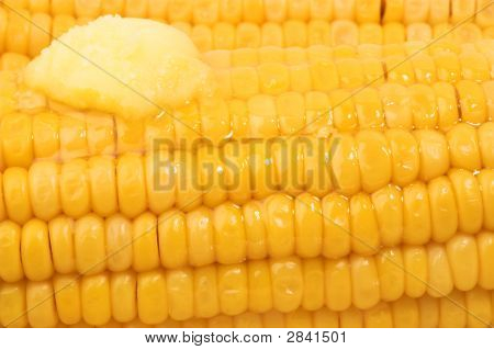 Sweetcorn With Melting Butter