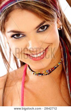 Casual Happy Woman