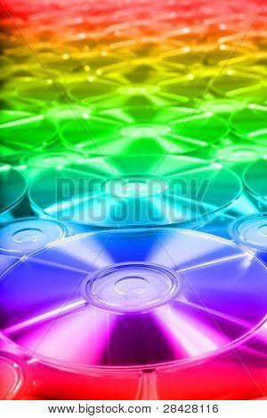 CD  romes for background