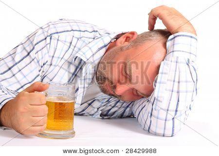Hombre borracho