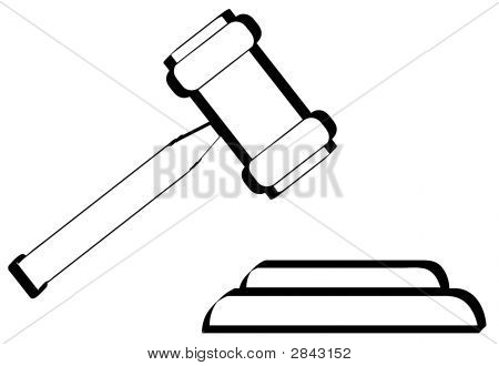 Gavel Outline