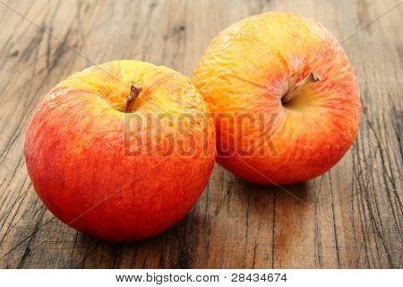 Two Shriveled Apples.