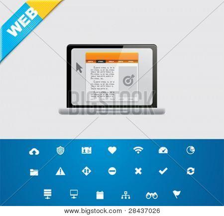 Universal glyphs 8. Web icons