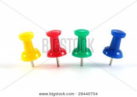 Office Color Pushpins