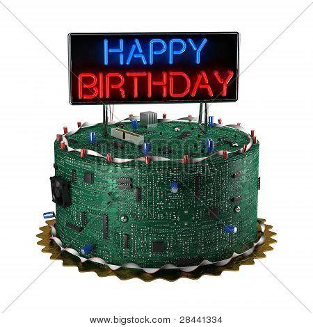 Birthday Cake For Geeks