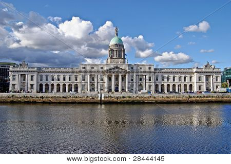 The Custom House, Dublin, Ireland