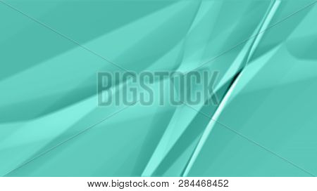 Green Surface Of A Fabric