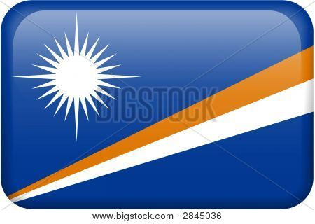 Marshall Islands Flag Button