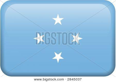 Micronesia Flag Button