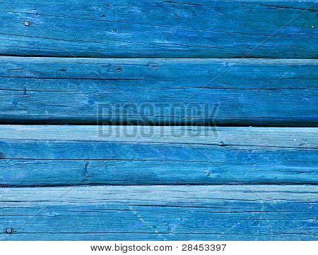 Azure Painted Balks Wall Background