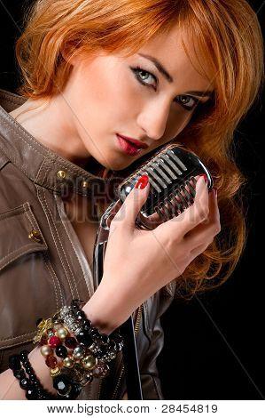 Beautiful singer