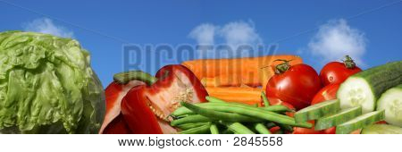 Banner / Header Veggies And Health