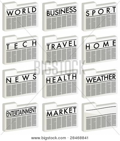 News - Icons