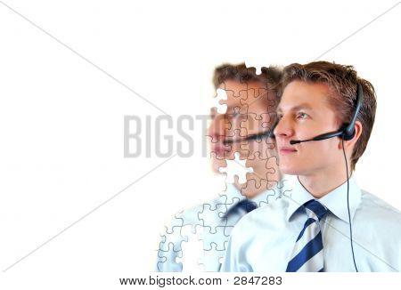 Male Customer Support Service