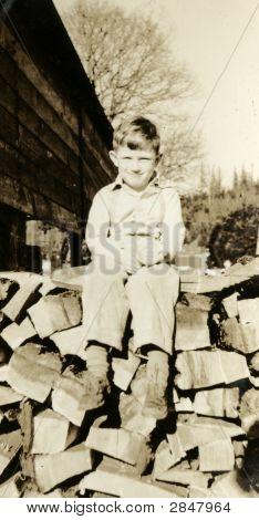 Vintage 1930 Picture