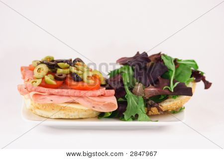 Sanduíche gourmet