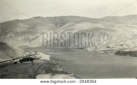 Vintage 1938 Nature Picture