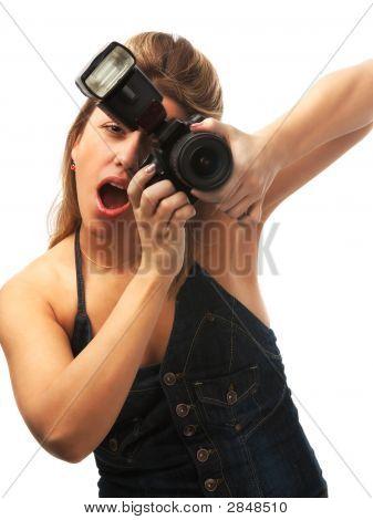 Fotógrafo surpreso