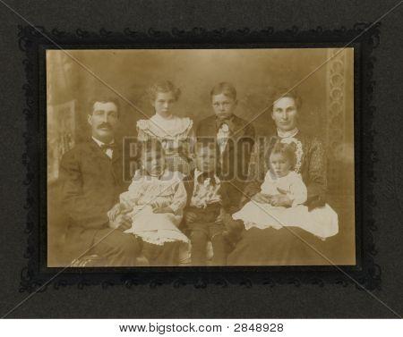 Vintage 1880 Photo