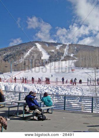 Ski Cafe Deck
