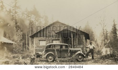 Vintage 1920 Auto