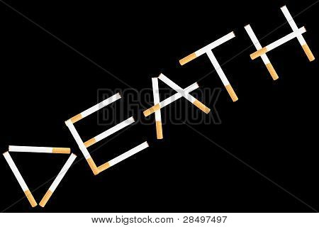 Word Death From Cigarettes