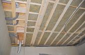 Ceiling Insulation Saves Energy And Money. Attic Insulation.  House Ceiling Insulation poster
