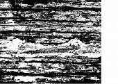 Wooden Texture Black And White Urban Rough Texture Vector.  Place Over Any Object Create Black Grung poster