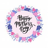Mothers Day Lettering poster