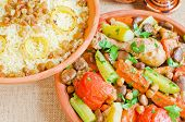 picture of tagine  - Moroccan couscous and  - JPG