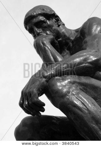 Pensador Bw de Rodin\