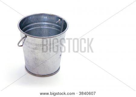 Bucket Of Nothing Clipping Path