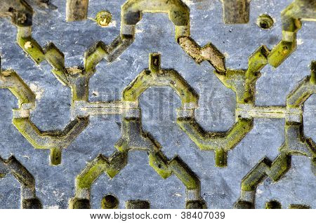 Tire Rubber Protector Tread Old Grunge Background