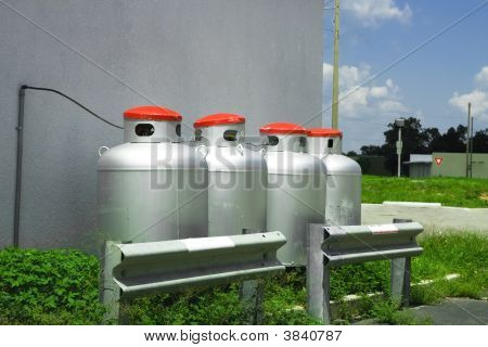 Large Propane Tanks