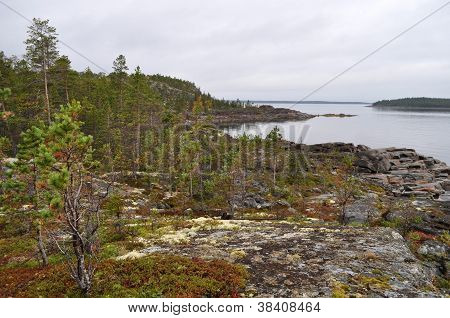 Landscape With Stones,  Karelia