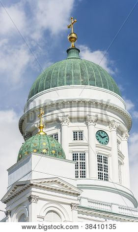 Neoclassical Domes Of St Nicholas Church