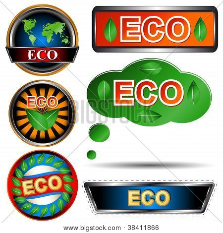 Eco Logo Set