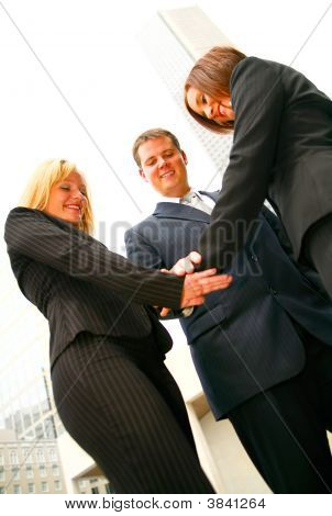 Business Team Join Hand