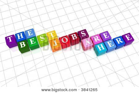 The Best Jobs Are Here In Colour