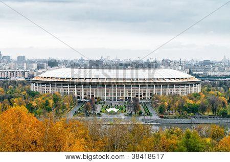 The Grand Sports Arena of the Luzhniki