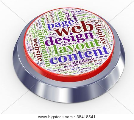 Web Design Button