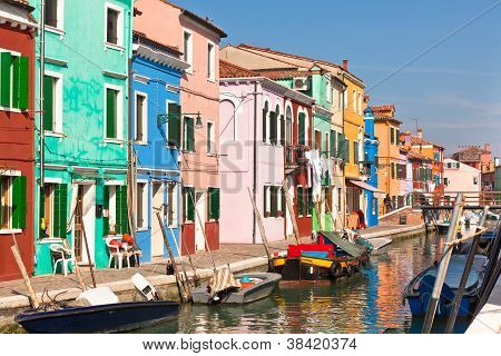 Burano's Colored Houses