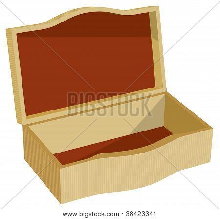Wooden Jewel Box