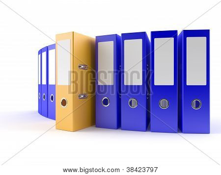 Yellow Ring Binder