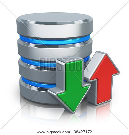 HDD database and backup concept