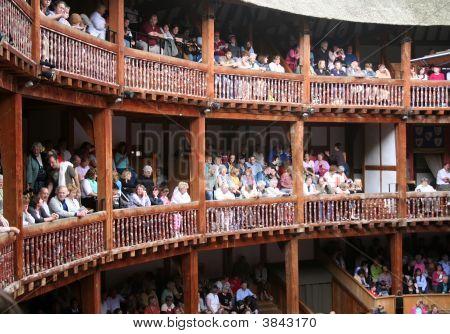 Globe Theater Publikum