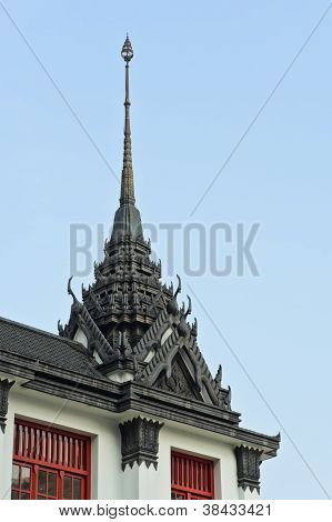 Metal Spires Of Loha Prasat