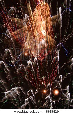 kosmische Feuerwerk
