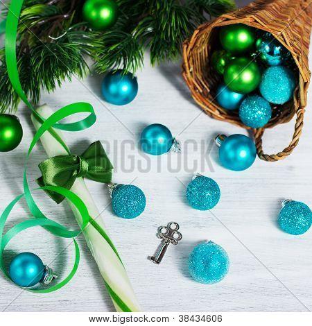 Christmas Decoration With Lollipop