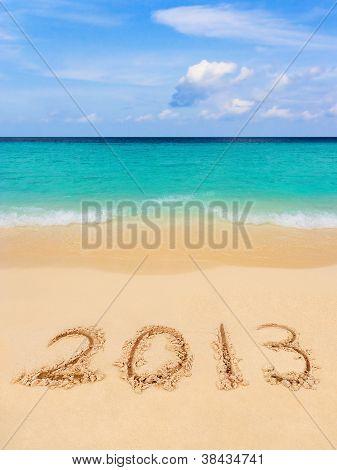Numbers 2013 On Beach
